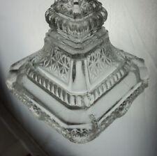 antiker Pressglas Kerzenleuchter Kerzenständer 3443/5