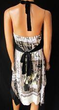 DESIGUAL Vestito  ABITO Dress TG.M stimata schiena nuda, lunghezza asimmetrica