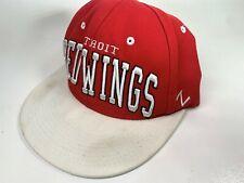 Vintage Detroit Red Wings NHL Hockey Snapback Hat Zephyr Zhats Snapback