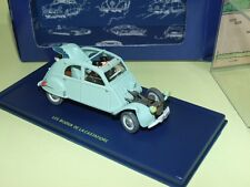 VOITURE TINTIN N°33 CITROEN 2CV 1954 ATLAS