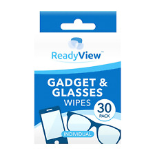 New Gadget And Glasses Lens Cleaning Wipes Pack Of 30