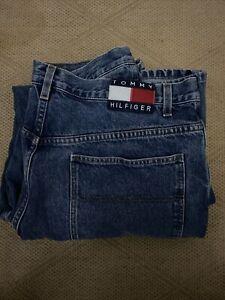 VINTAGE Tommy Hilfiger Men's Carpenter Denim Jeans Men's 38x34