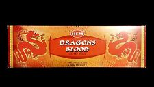 DRAGONS BLOOD 25 Boxes of 8 = 200 HEM Incense Sticks Bulk Case Retail Display