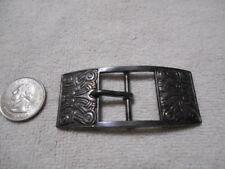 """Vintage David Andersen Norway Sterling Silver Belt Buckle  4""""x1.25"""" RARE!!!"""
