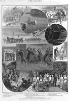 Whitechapel.Wales.1889.Medical.Students.The Poor.Poverty.London.Anglesey.Camping