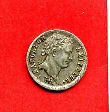 (F.57) DEMI-FRANC NAPOLÉON 1er 1808 D LYON BUSTE FORT  (TTB+) RARE