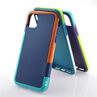 Hybrid Gel Rubber Anti-Slip Case Cover for iPhone 12 mini 11 Pro Max XS XR X 8 7