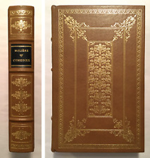 Moliere Comedies 1985 Full Leather Franklin Oxford Library World's Great Books