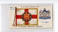 (Jb9415-100)  PLAYERS,REG COLOURS & CAP BADGES(BLUE),MANCHESTER REGT,1910#7