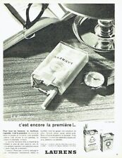 Publicité Advertising  0817  1962  cigarette Laurens Carlton