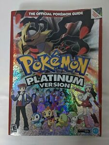 Pokemon Platinum Version Official Pokemon Strategy Guide With Map Poster
