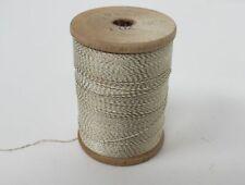 Gudebrod Rod Winding Thread 1 oz Spool Fly Tying Crafts Obsolete White/Gold!