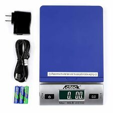 Acteck A Ds86 Blue 86 Lb X 01oz Digital Postal Shipping Scale Adapterbatteries