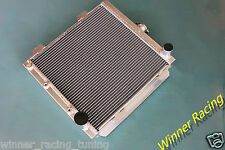 "ALUMINUM RADIATOR Mustang Shelby GT-350,302,Cougar XR-7 V8 w/o AC 2x1"" 67-69 AT"