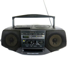 Sony CFD-V15 CD Radio Cassette Recorder Boombox Portable Tape Deck Super Bass