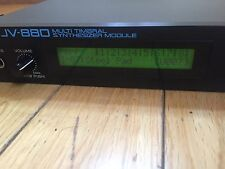 1990's Roland JV-880 MultiTimbral Synthesizer Module, 1U Rack, Sound Editing  Ex