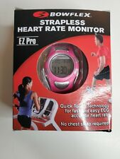 Bowflex Heart Rate Monitor Strapless Pink Fitness Woman's Watch EZ Pro