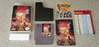 Dragon Warrior III iii 3 Nintendo NES Game lot Box Map Chart Manual Complete CIB