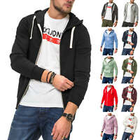 Jack & Jones Herren Sweatjacke Hoodie Herrenjacke Leichte Jacke Sweater