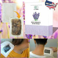 NUTRISPOT 10 NECK DETOX PATCH ANTI-SWELLING HERBAL LYMPH PADS FOOT PATCH