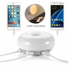 USB Fast Quick Charger Hub Wall Charger Power Adapter For iPhone Samsung Android