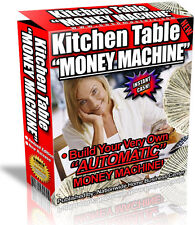 KITCHEN TABLE MONEY MACHINE PDF EBOOK FREE SHIPPING RESALE RIGHTS