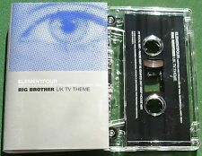 Elementfour Big Brother Theme Oakenfold & Gray Cassette Tape Single - TESTED