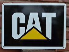 CAT CATERPILLAR Logo SIGN skidsteer excavator 315 Mechanic Garage Free Shipping