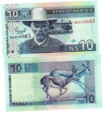 Namibie NAMIBIA Billet 10 Namibia DOLLARS P4 NEUF UNC