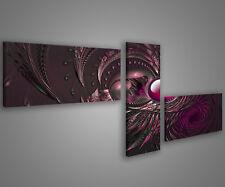 Quadri moderni astratti 180 x 70 stampe su tela canvas con telaio MIX-S_54