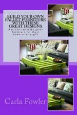Build Your Own Pallet Furniture with These Great Designs : Any One Can Make...