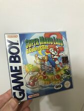 Super Mario Land 2 Golden Coins PAL Gig ITA Nintendo Gameboy scatola manuale