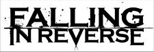 """001 Falling In Reverse - American Rock Band Music Stars 41""""x14"""" Poster"""