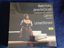 BIZET CARMEN BERNSTEIN HORNE 1973 3 LP BOX DGG SEALED MINT