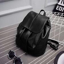 Women Leather Backpack Rucksack Travel School Bag Shoulder Bags Fashion Satchel