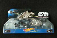 Star Wars Starships TIE Interceptor vs Millennium Falcon Hot Wheels