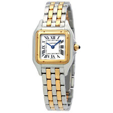 Cartier Panthere de Cartier Ladies Stainless Steel and 18K Yellow Gold Watch