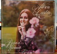 Allison Durbin - Born A Woman - 1976 LP record + CD-R backup