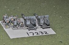 15mm WW1 / italian - artillery 2 heavy guns & crews - art (17232)