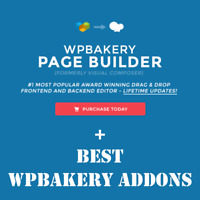 WPBakery Page Builder + Best Premium Addons | WordPress Plugin | Lifetime Update