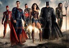 JUSTICE LEAGUE Movie PHOTO Print POSTER Superman Batman Wonder Woman Flash 012