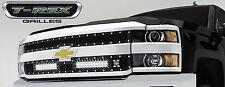 T-REX Torch Series LED Grille 2015 Chevy Silverado 2500 3500 HD 6311221 Black