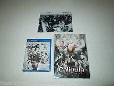 Caligula Limited Edition PS Vita Japan Import Exclusive Cel Sealed FREE SHIPPING