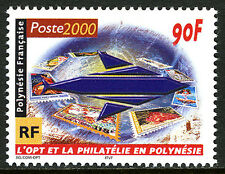 French Polynesia 773, MNH. Postal Service Emblem. Letters, 2000