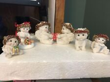 Dreamsicles figurines, lot of 6.