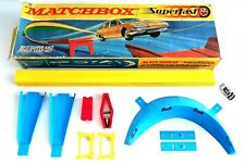 Vintage 1970's Matchbox Lesney Superfast ~ SF-3 CURVE AND SPACE LEAP SET ~ Boxed