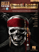 """Pirates of the Caribbean Cello Play-Along Volume 3"" MUSIC BOOK/AUDIO ACCESS-NEW"
