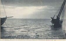 Antique Atlantic City Postcard Postmarked 1906 Black & White
