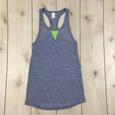 XHILARATION - Small - Blue Athletic Tank Top Poly-Linen Blend