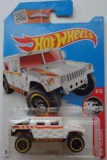2016 Hot Wheels HW RESCUE 8/10 Humvee 218/250 (White)(Int. Card)